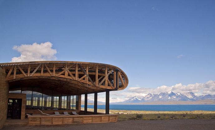 architetture in legno Hotel Tierra Patagonia
