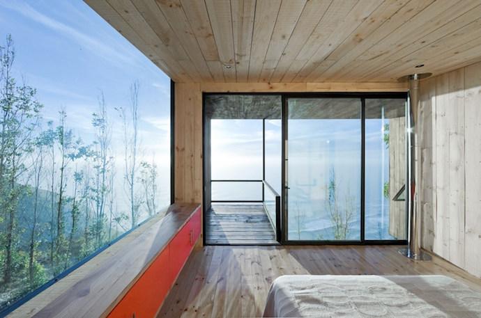 architetture in legno Cortes House