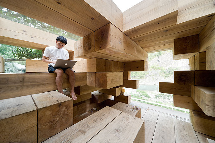 architetture in legno Final Wooden House