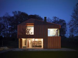 architetture in legno house 11x11