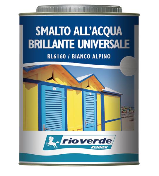 Rlxx60 smalto all 39 acqua brillante universale renner italia for Smalto all acqua